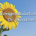 Dr. Marieta Heaton UF Lifetime Achievement Award