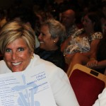 Suze Orman, internationallly acclaimed financial expert and the aunt of sophomore student Katelyn Stender, was in the audience supporting her niece.