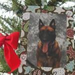 K-9 on ornament