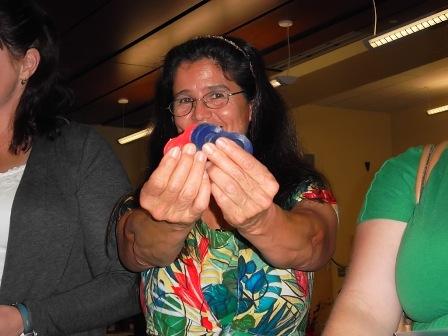 Maria Ransone at the veterinary technician dinner, 2012.