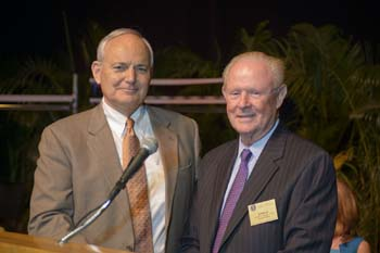 Dean Glen Hoffsis and Dr. Donald Morgan