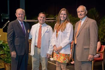 UF Champions of Veterinary Medicine scholarship winners.