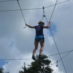Ropes course at FLE