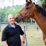 Dr. Andrew Smith and horse