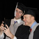 Graduate selfie