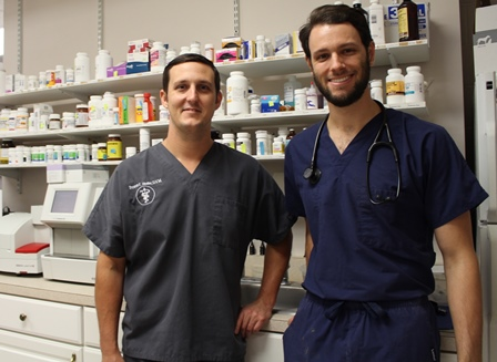 Dr. Hester and Andrew Morgan
