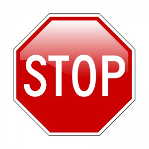Stop Sign Smaller