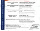 October 2014 Geriatric Care Boot Camp