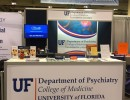 University of Florida, Department of Psychiatry  Exhibitor Booth