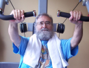 Rich Bedner, Fitness Center member