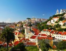 Portuga - city view of Lisbon